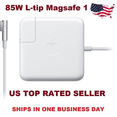 """Genuine OEM Apple 85W Magsafe 1 AC Adapter Charger for 13"""" 15"""" 17"""" Macbook Pro"""