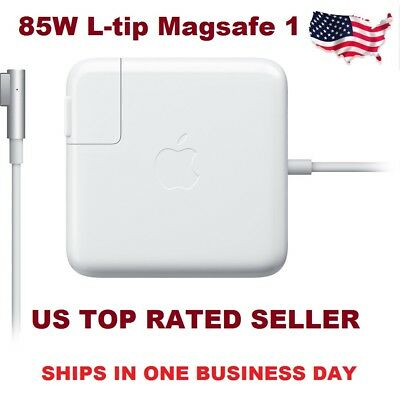 "Genuine OEM Apple 85W Magsafe 1 AC Adapter Charger for 13"" 15"" 17"" Macbook Pro"
