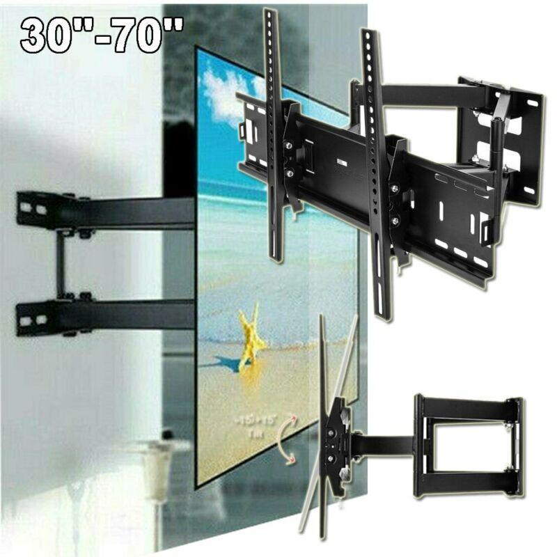 Full Motion TV Wall Mount Bracket 24 30 37 40 42 47 50 52 55 60 65 70 75 inch
