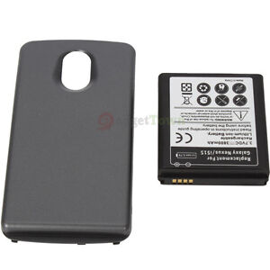 New 3800mAh Extended Battery for SamSung Galaxy Nexus SCH-i515 Verizon