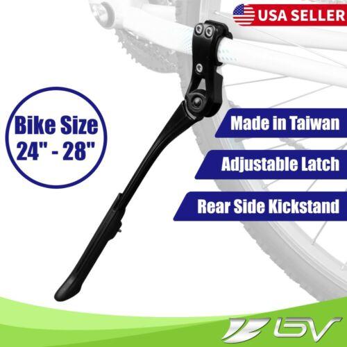 "BV Mountain Bike Kickstand Rear Side Universal Stand Oval Mount Road Bike24""-28"""