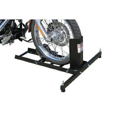 Motorcycle Wheel Chock Stand  Mount Truck Trailer Floor Lift Stand Chock
