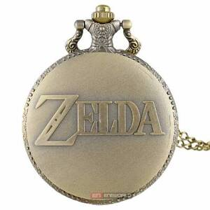 Bronze - LEGEND OF ZELDA - Pocket Watch Chain Pendant - NEW. Gateshead Lake Macquarie Area Preview