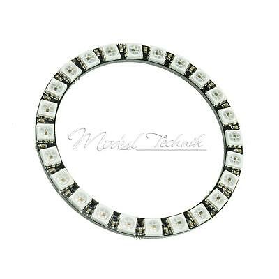 RGB LED Ring 24Bit WS2812B 5050 lamp RGB LED Board with Integrated Drivers