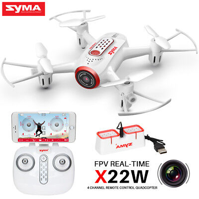Syma X22W 2.4Ghz Mini FPV Real Time Drone Fixed High Hover RC Quadcopter UAV UFO