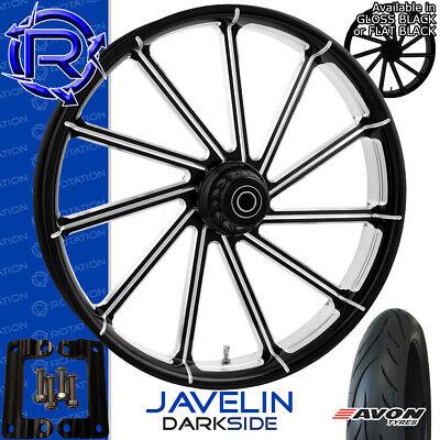 Rotation Javelin DarkSide Motorcycle Wheel Kawasaki Vaquero Vulcan Package 21