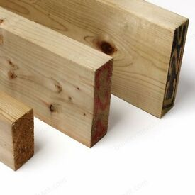 Treated Timber 2x2 3x2 4x2 5x2 6x2 7x2 8x2 Tanalised Pressure Treated Timber 100mm Graded C16 C24