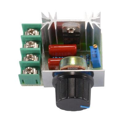 25a 50v-220v Ac 2000w Pwm Motor Speed Controller Module Current Regulator Rc916