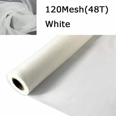 3 Yards 50 Inchs Silk Screen Printing Fabric Mesh 120 Mesh48t