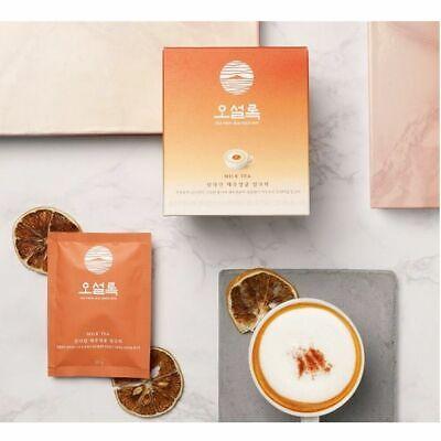 NEW OSULLOC JEJU Mandarin Milk Tea Premium Korean TEA 10Bags