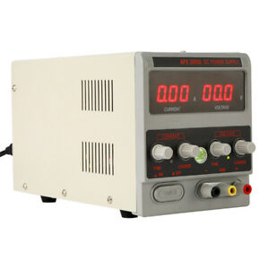 DC Bench Power Supply 30V 5A Variable Precision Adjustable Digital Lab Grade