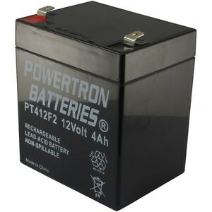 12v 4ah alarm battery ebay. Black Bedroom Furniture Sets. Home Design Ideas