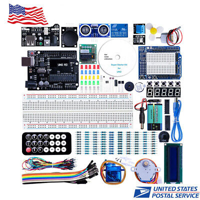 El-kit-003 Uno Project Super Starter Kit With Tutorial For Arduino