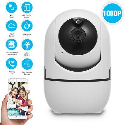 Wireless Telecamera HD 1080P WiFi IP Camera MOTORIZZATA RETE INTERNET 360 PTZ IR