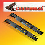 Copperhead Multch Blades Fits John Deere L100, L10 picture