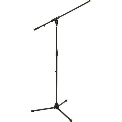 - K&M Tripod Microphone Stand with Boom Arm Black