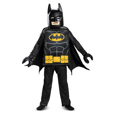 Lego Batman Halloween-kostüm (Boys LEGO Batman Movie Deluxe Halloween Costume)