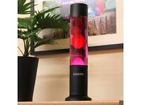 Beautiful purple and red Lava lamp.