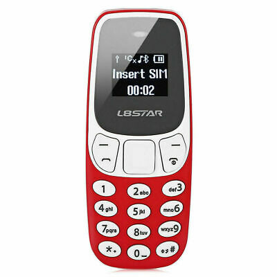 MINI TELEFONO CELLULARE TASCABILE L8STAR BM 10 DUAL SIM BLUETOOTH GSM MP3