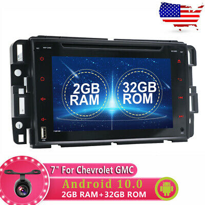 2DIN Android 10.0 Car Stereo Radio GPS For GMC Yukon Chevrolet Chevy Tahoe WIFI