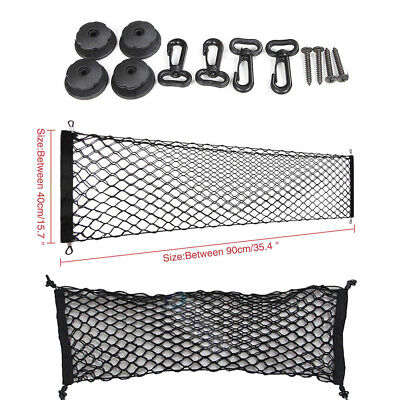 2008 Saturn Outlook Accessories - Nylon Car Trunk Cargo Envelope Style Bag Storage Elastic Mesh Net Accessories