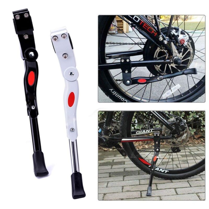 Adjustable Bike Bicycle Cycling Side Middle Kickstand Kick Stands JF