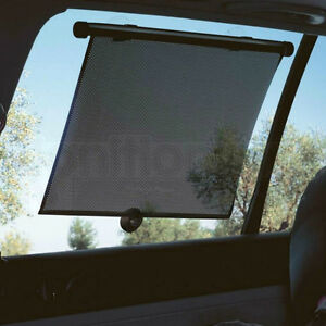 2 x Car Window Roller Blinds Sun Block Shades Baby Children Interior Protection