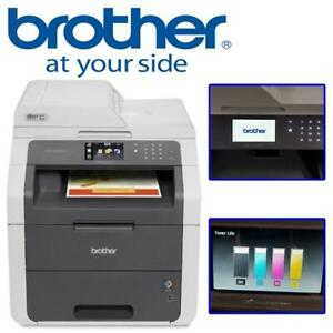 NEW Brother MFC-9130CW Wireless All-In-One Colour Printer with Scanner, Copier and Fax Condtion: New, MFC9130CW, Box ...
