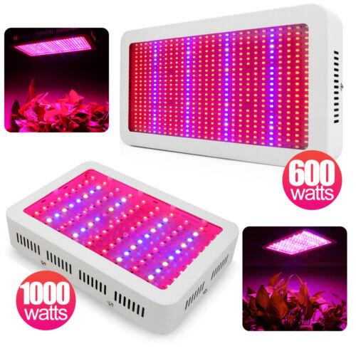 1-4×1000W LED Grow Light Vollspektrum Pflanzen Lampe Licht Blumen Gemüse Panel