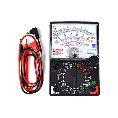 Yx 360Tr N Analogue Meter Multimeter Multitester Fuse Diode Protection Dc   Ac