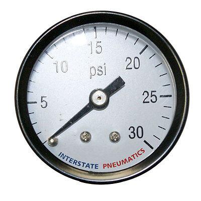 Pressure Gauge-rear Mount 1.5 Inch Diameter 0-30 Psi - 18 Inch Npt - G2101-030