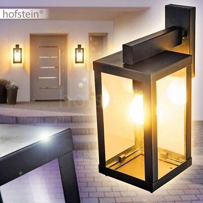 moderne Garten Beleuchtung Glas Aussen Wand Leuchte Hof Veranda Terrassen Lampe