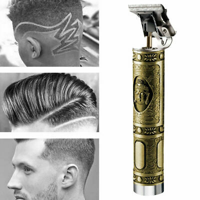 Tondeuse à cheveux professionnelle tondeuse à raser coupe barbier sans fil barbe
