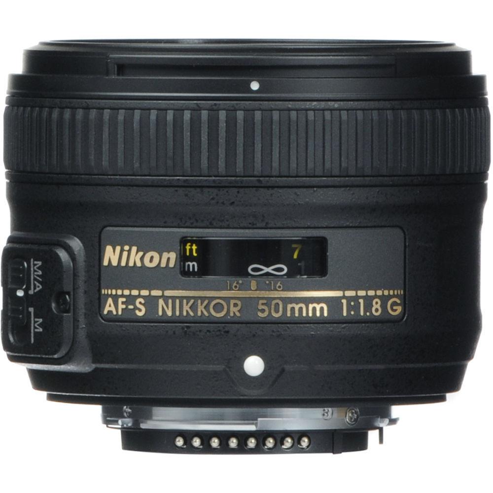 Nikon Af-s Nikkor 50mm F1.8g Fixed Focal Length Lens