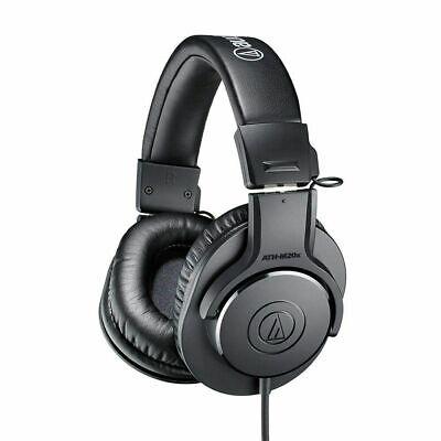 Audio-Technica ATH-M20x Professional Monitor Headphones Sound-Isolating Black