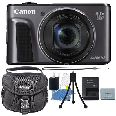Canon PowerShot SX720 HS 20.3MP Digital Camera with Accessory Bundle