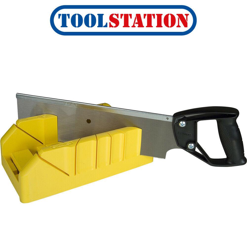 Stanley 19-800 Saw Storage Mitre Box with 12-Inch Backsaw