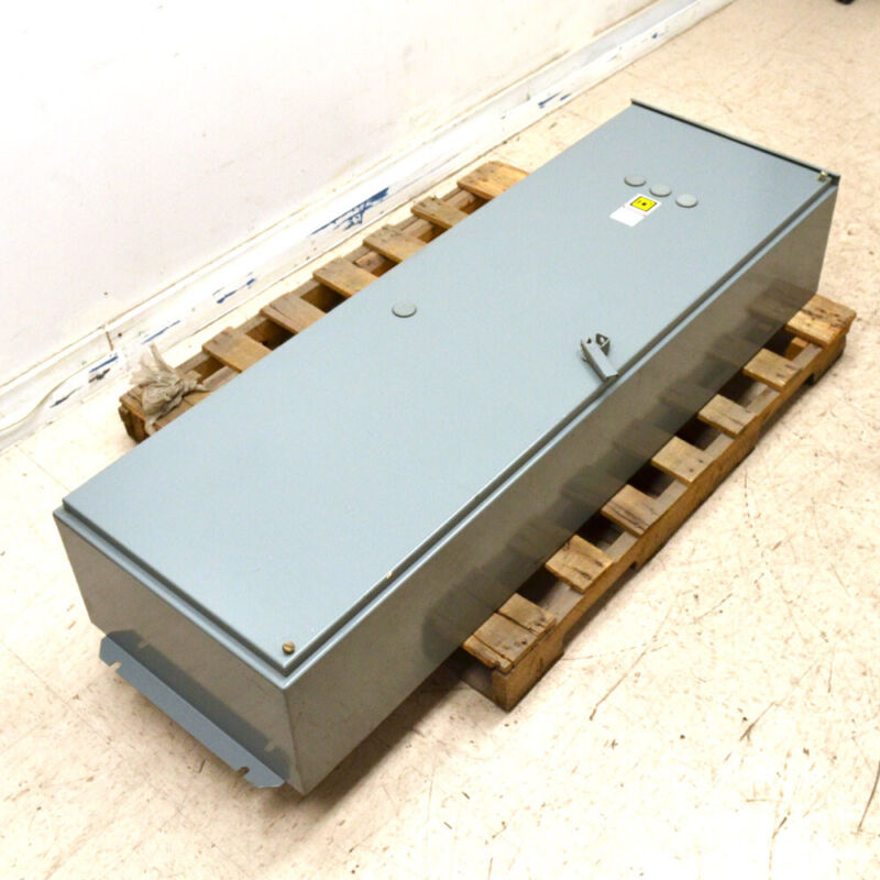 Square D 8903SYA17 R6 SER B 62x20x12 Type 12 Steel 1-Door Electrical Enclosure