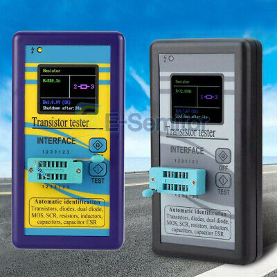 M328 Esr 1.8 Tft Lcd Display Transistor Tester Diode Checker Capacitance Meter