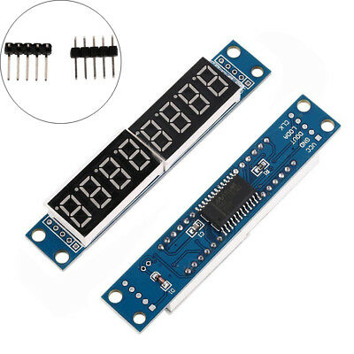 Max7219 Led Dot Matrix 8-digit Digital Display Tube Control Module Ass