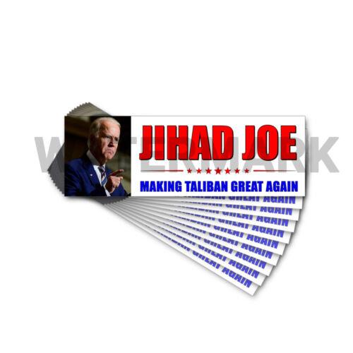 Jihad Joe Biden - Making Taliban Great Sticker President Anti Joe Biden 10 PACK