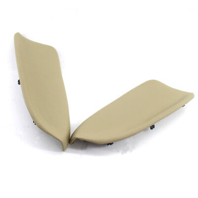 2x Door Panel Armrest Leather fit for Honda Accord 2008-2012 Beige Hot