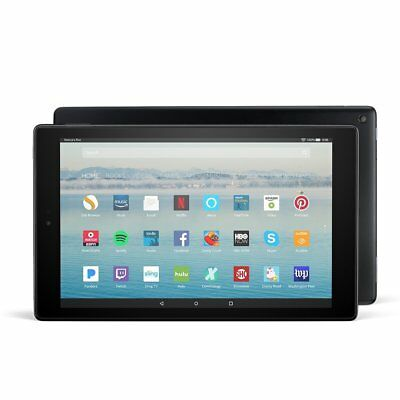 Amazon Kindle Fire HD 10 Tablet 64GB Black 7th Gen 2017 1 Year Warranty segunda mano  Embacar hacia Argentina