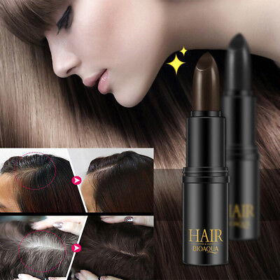 Hair Color Temporary Cover - Fast Temporary Cosmetic Cover Your Grey White Hair Touch Up Hair Color Lipstick