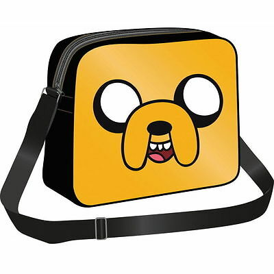 NEW OFFICIAL Adventure Time Jake Boys Kids Courier Messenger School Shoulder Bag