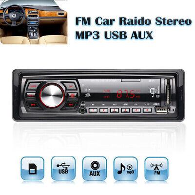 50W x 4 FM 12V Car FM Radio Receiver Stereo LED Display SD USB MP3 WMA Player