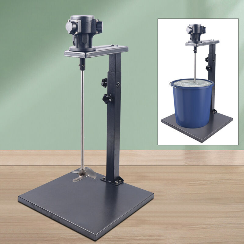 Pneumatic Mixer Manual Paint Mixer 5 Gallon 20L Drill Paint Mixer Stirring USA