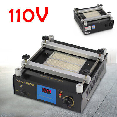 853a Preheating Oven Pcb Preheater Infrared Preheating Station 130x130mm 600w Us