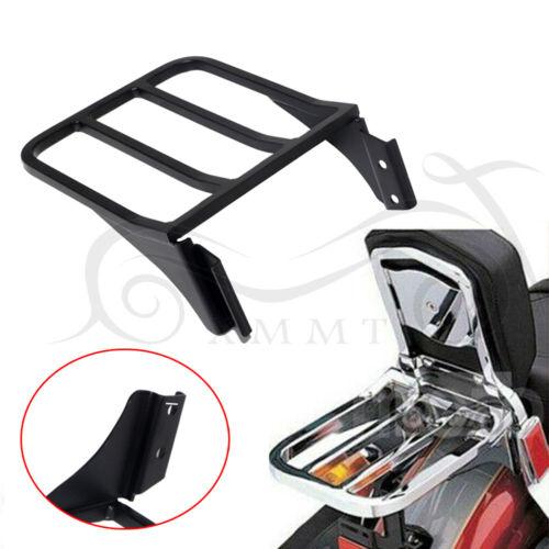 XMMT Chrome Sissy Bar Backrest Luggage Rack For Harley Davidson Sportster XL 883 1200 Dyna Softail /& FLSTF FLST FLSTC FLSTSC