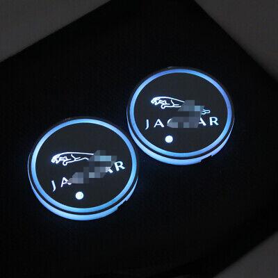 2x MOPAR Carbon Fiber Car Cup Holder Pad Water Cup Slot Non-Slip Mat Accessories